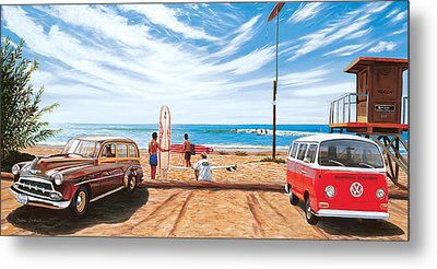 The Point San Onofre Metal Print by Steve Simon