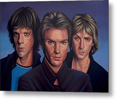 The Police Metal Print by Paul Meijering