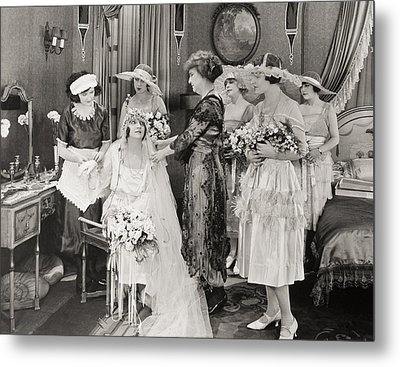 The Power Within, 1921 Metal Print by Granger