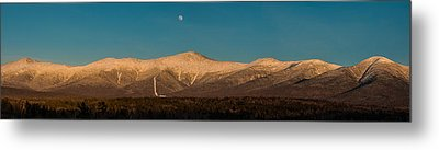The Presidential Range White Mountains New Hampshire Metal Print by Brenda Jacobs