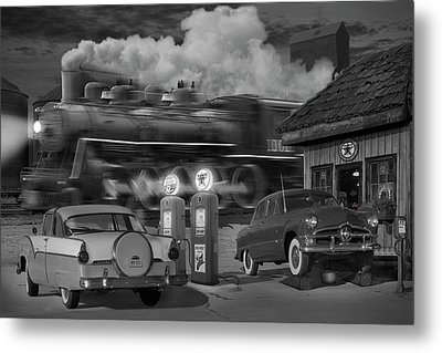 The Pumps Metal Print by Mike McGlothlen