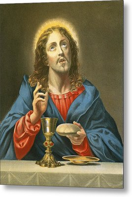 The Redeemer Metal Print by Carlo Dolci