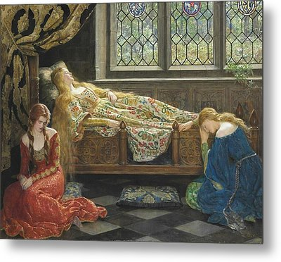 The Sleeping Beauty Metal Print by Philip Ralley