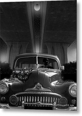The Snake Metal Print by Larry Butterworth