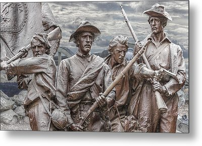 The South Will Rise Again Metal Print by Randy Steele