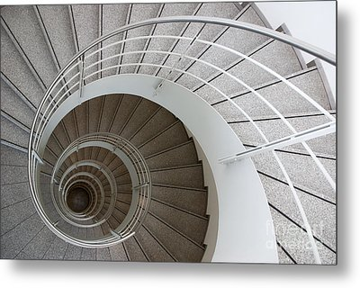 The Spiral  Metal Print by Hannes Cmarits