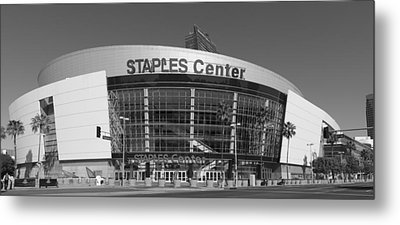 The Staples Center Metal Print by Mountain Dreams
