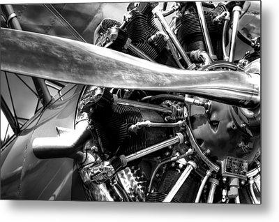 The Stearman Jacobs Aircraft Engine Metal Print by David Patterson
