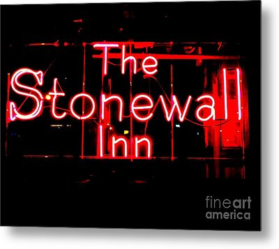 The Stonewall Inn Metal Print