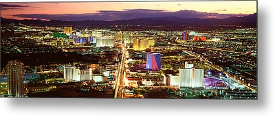 The Strip, Las Vegas Nevada, Usa Metal Print