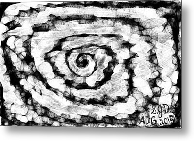 The Swirly Circle Of Life Metal Print by Joe Dillon