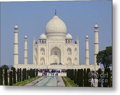 The Taj Mahal Metal Print by Pravine Chester