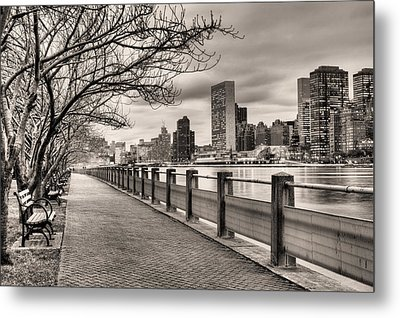 The Walk Metal Print by JC Findley
