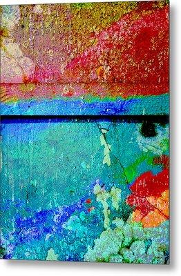 The Wall Abstract Photograph Metal Print