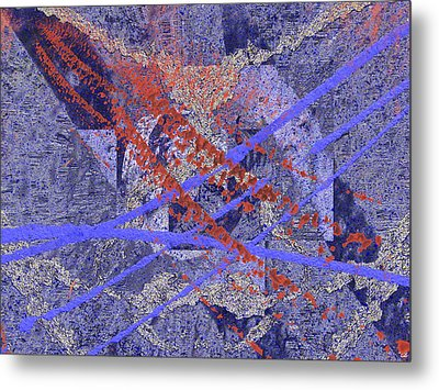 The Writing On The Wall 10 Metal Print by Tim Allen