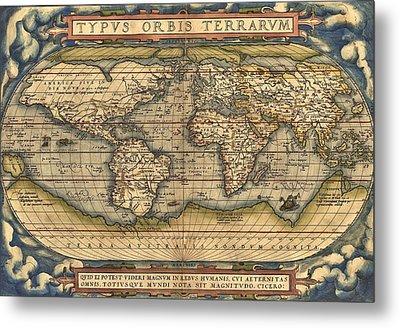 Theatrum Orbis Terrarum  Metal Print