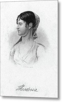 Theodosia Burr (1783-1813) Metal Print