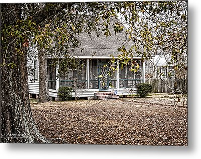 This Old House Metal Print by Andy Crawford