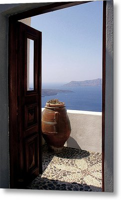 Through This Door Metal Print