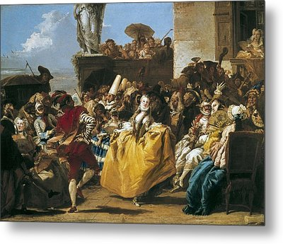 Tiepolo, Giovanni Domenico 1727-1804 Metal Print by Everett