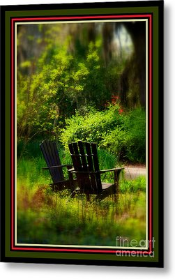 Time For Coffee Metal Print by Susanne Van Hulst