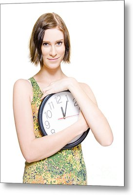 Time For Love And Romance Metal Print