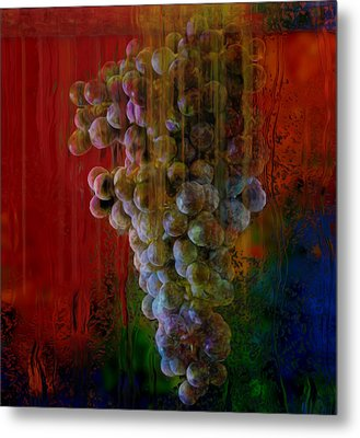 Touch Of The Grape Metal Print by Jack Zulli