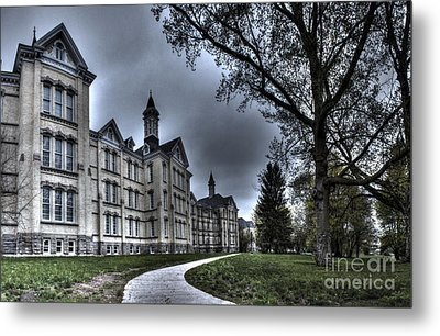Traverse City State Mental Hospital Metal Print by Twenty Two North Photography