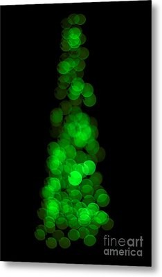 Tree Of Christmas Focus Metal Print by Jorgo Photography - Wall Art Gallery