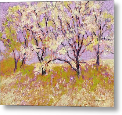 Trees Il Metal Print by J Reifsnyder