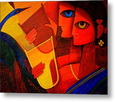 Tribal Women Metal Print by Jiaur Rahman