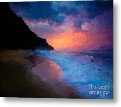 Tropical Paradise Metal Print by Anthony Fishburne