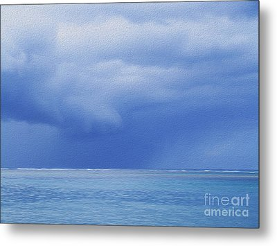 Metal Print featuring the photograph Tropical Storm by Roselynne Broussard