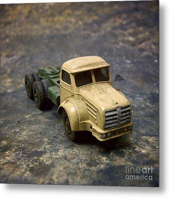 Truck Toy Metal Print by Bernard Jaubert