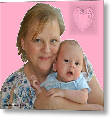 Trudy And Zachary Metal Print by Bruce Nutting