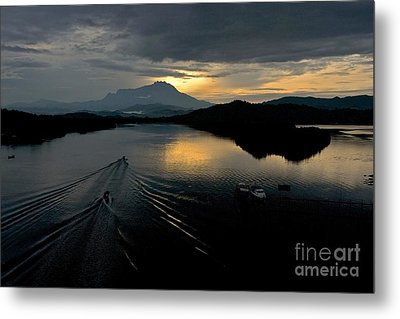 Tuaran River  Metal Print by Gary Bridger