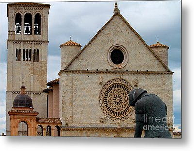 Metal Print featuring the photograph Turning Point --st. Francis Of Assisi by Theresa Ramos-DuVon