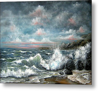 Turning Tide Metal Print by Patrice Torrillo