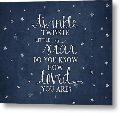 Twinkle Little Star Metal Print by Amy Cummings