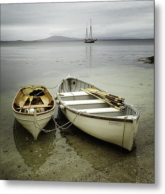 Two Boats Metal Print by Fred LeBlanc
