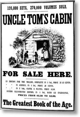 Uncle Tom's Cabin, C1860 Metal Print by Granger
