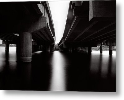 Under The Bridges Metal Print