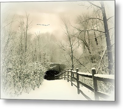 Underhill Crossing Metal Print by Jessica Jenney