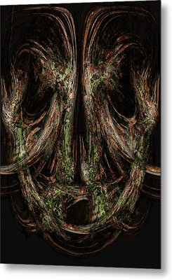 Unforgiveness Metal Print by Christopher Gaston