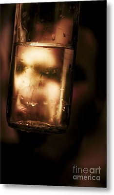 Unhappy Drunk Metal Print by Jorgo Photography - Wall Art Gallery
