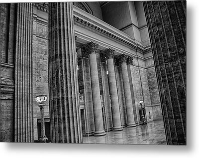 Union Station Chicago Metal Print by Mike Burgquist
