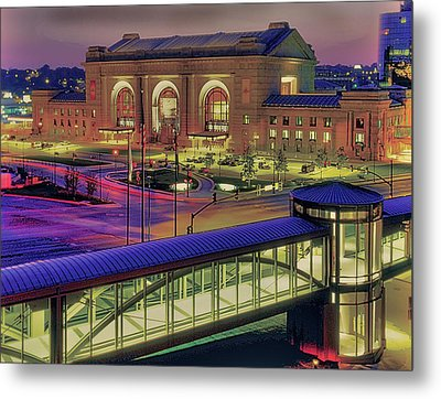 Union Station Metal Print by Don Wolf