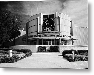 united states astronaut hall of fame Kennedy Space Center Florida USA Metal Print by Joe Fox