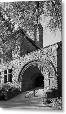 University Of Minnesota Pillsbury Hall Metal Print by University Icons