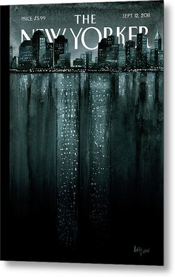 New Yorker September 12th, 2011 Metal Print